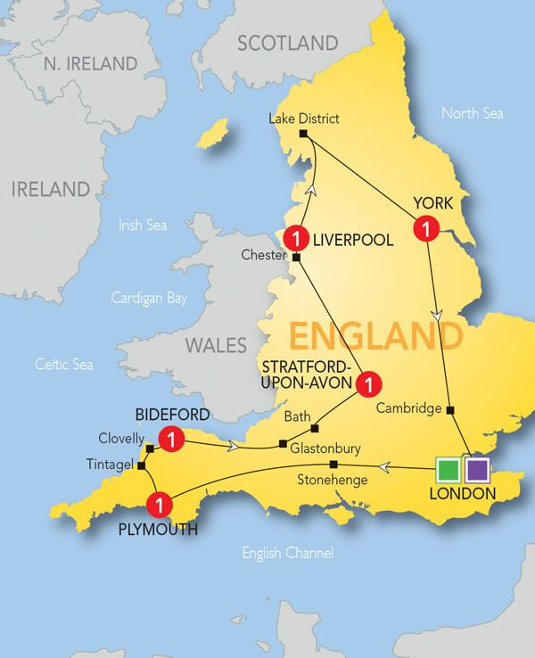 11 Day Best Of Britain Devon And Cornwall Tours Of England England Travel