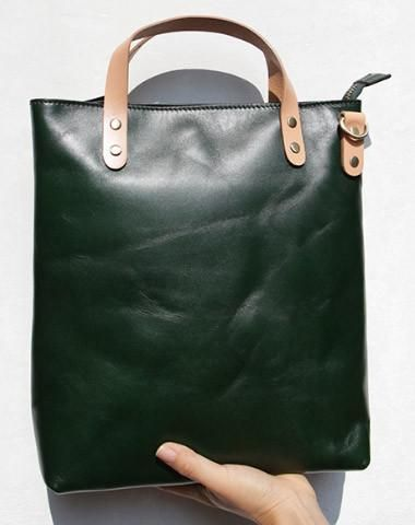 88189b7ffd21 Handmade vintage womens leather tote bags shoulder bag for women ...
