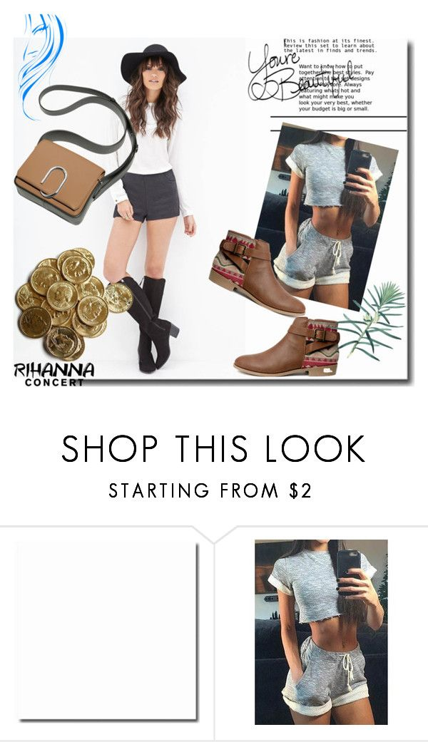 """""""Bez naslova #76"""" by rilner ❤ liked on Polyvore featuring Forever 21, H&M and LIST"""