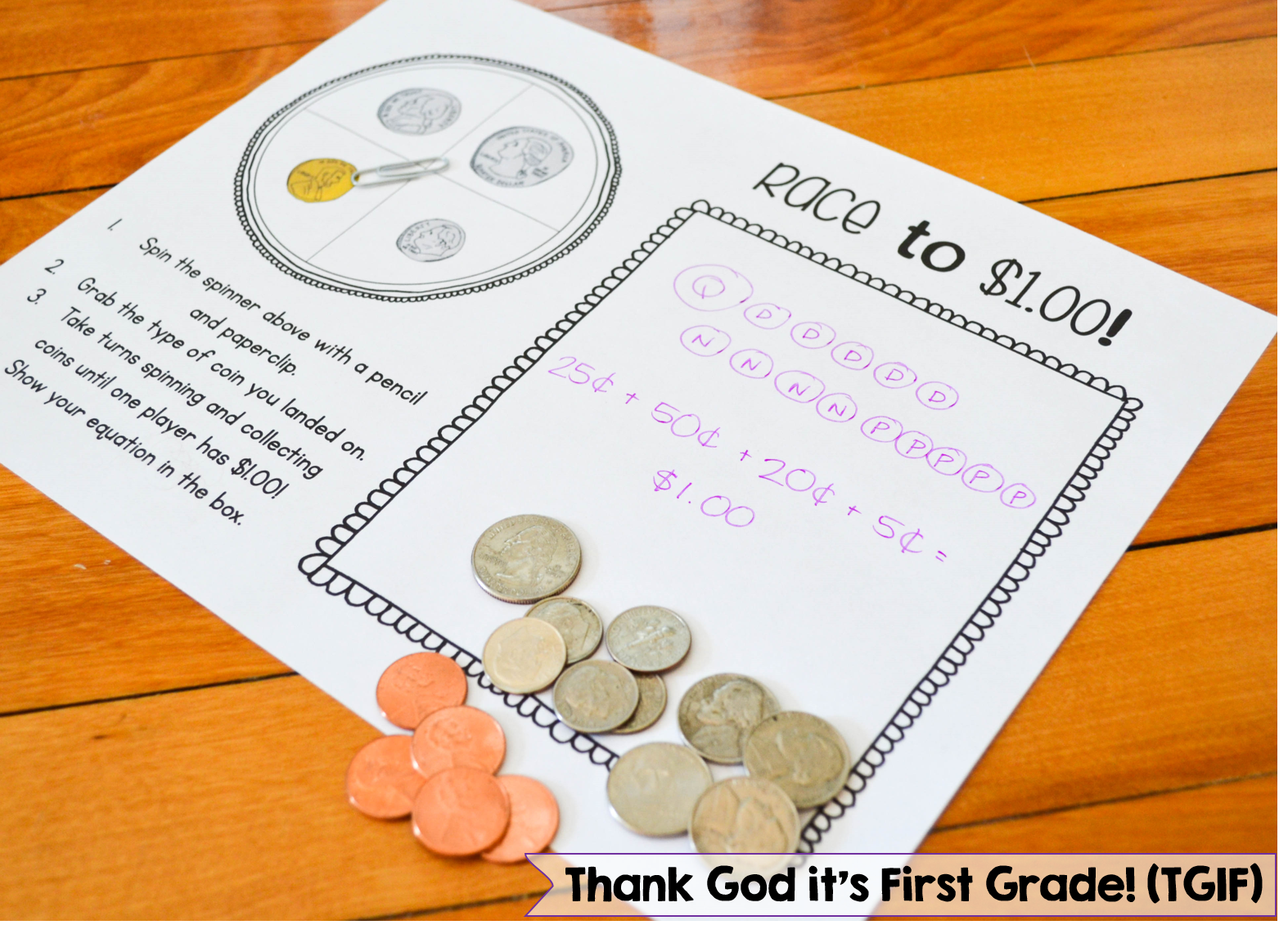 Money Activities for Kindergarten and 1st Grade! Money