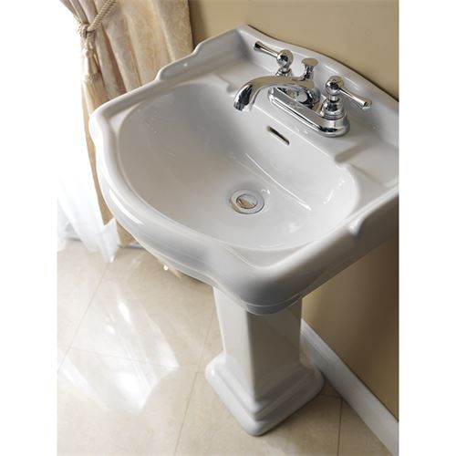 Barclay 3 876 Stanford 6 Mini Widespread 460 Pedestal Lavatory