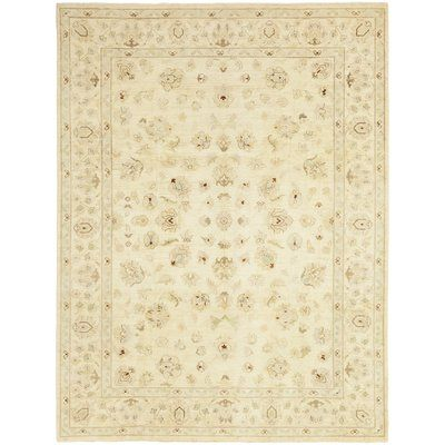 Solo Rugs One Of A Kind Oushak Hand Knotted Wool Beige Indoor Area