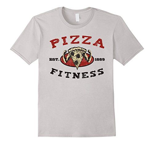 Men's and Women's Pizza Fitness T-Shirt