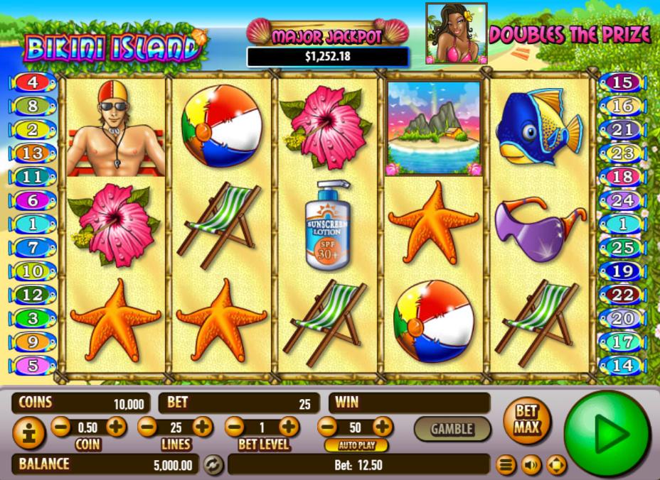 Bikini Island Slot Game Review