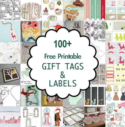 100 free printable christmas gift tags and labels printables 100 free printable christmas gift tags and labels negle Image collections