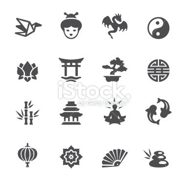 Soulico Collection Asian Culture Icons Japanese Icons Cat Silhouette Tattoos Chinese Drawings