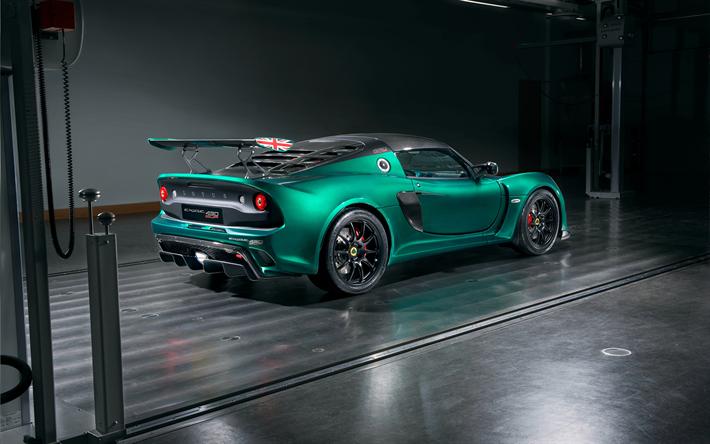 Descargar fondos de pantalla Lotus Exige Cup 430, 2018, coche ...