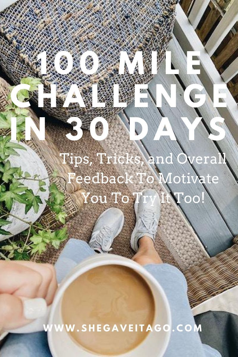 After completing two rounds of the 100-mile challenge in thirty days, I  am excited to share with you my experience.  I talk about tips, tricks,  and overall feedback on this challenge.