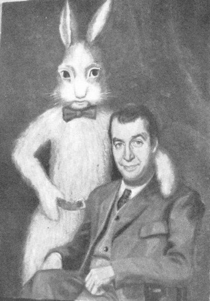 James Stewart and Harvey the Pooka.One of my favorite ...