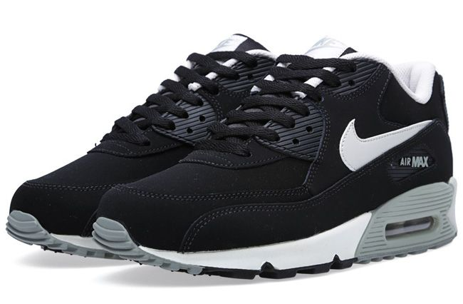 air max 90 black and grey