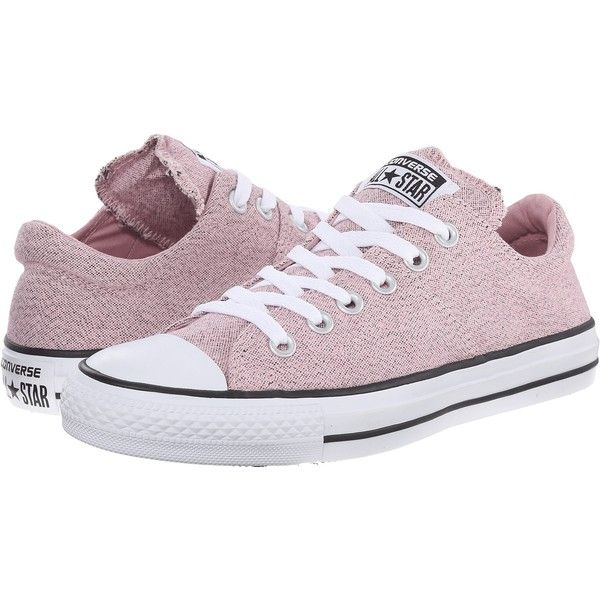 Converse Chuck Taylor All Star Madison Heathered Canvas Ox (Pink... ($40