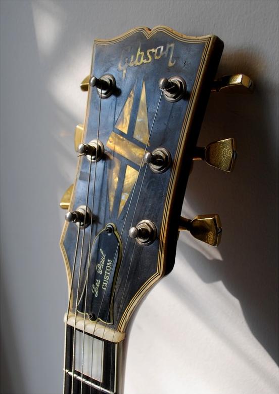Headstock Gibson Les Paul Custom Gibson Les Paul Les Paul Guitars Gibson Guitars