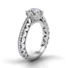 Danhov Petalo Single Shank Engagement Ring FE108