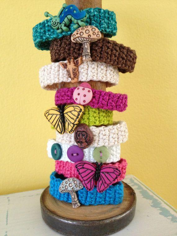 Children's Crocheted Animal/Insect/Mushroom by BeachDaisyJewelry, $4.00
