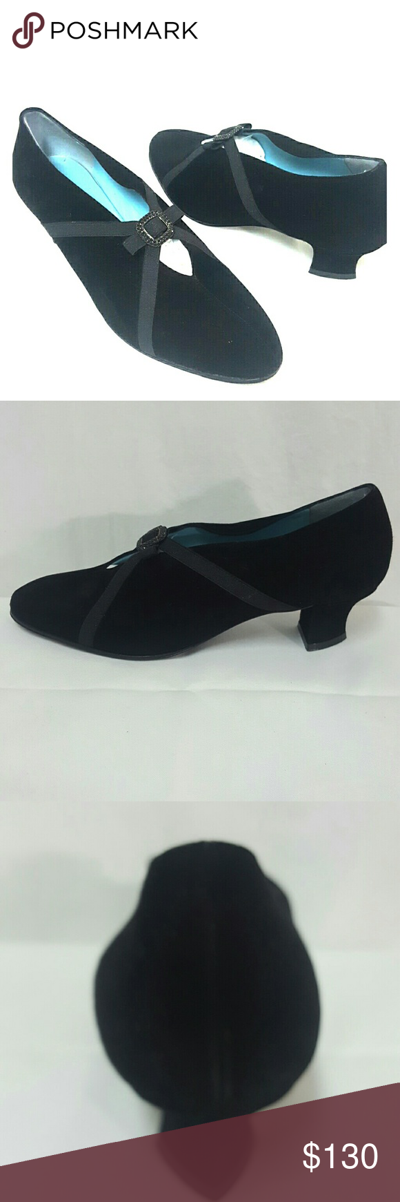 Thierry Rabotin black suede pumps Mint Size 7 Thierry Rabotin pumps in mint condition. Size 7, suede, heel is 1.7 inches. Thierry Rabotin  Shoes Heels