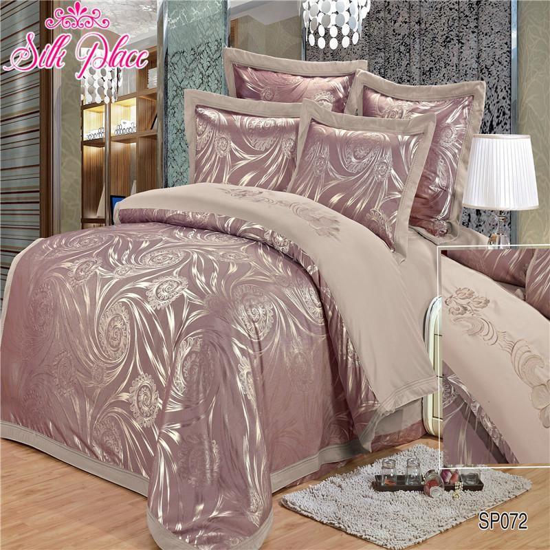 """Silk Place"" Europe Fashion Quality Bedding Set Luxury"