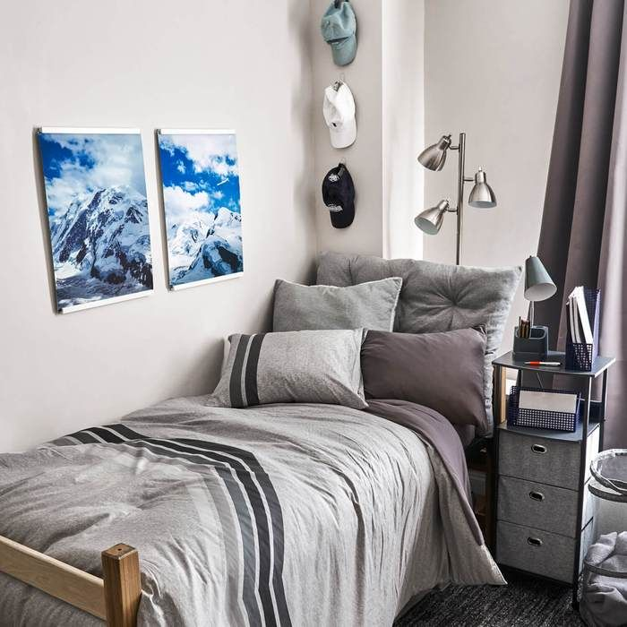 First Time Dorm Room Decorating for Guys · Just Organized By Taya