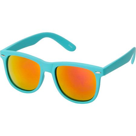 76de5e8d8a077 Jack Martin Frisky Business Matte Turquoise   Fire Sunglasses