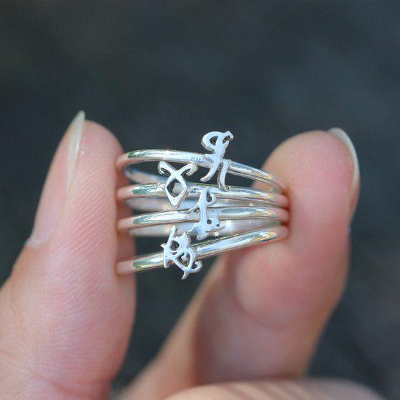 Photo of 925 sterling silver Power runes ringParabatai Rune   Etsy