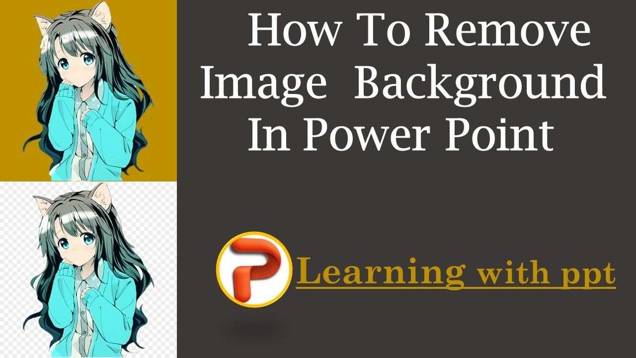 How to remove background of any image by one click in