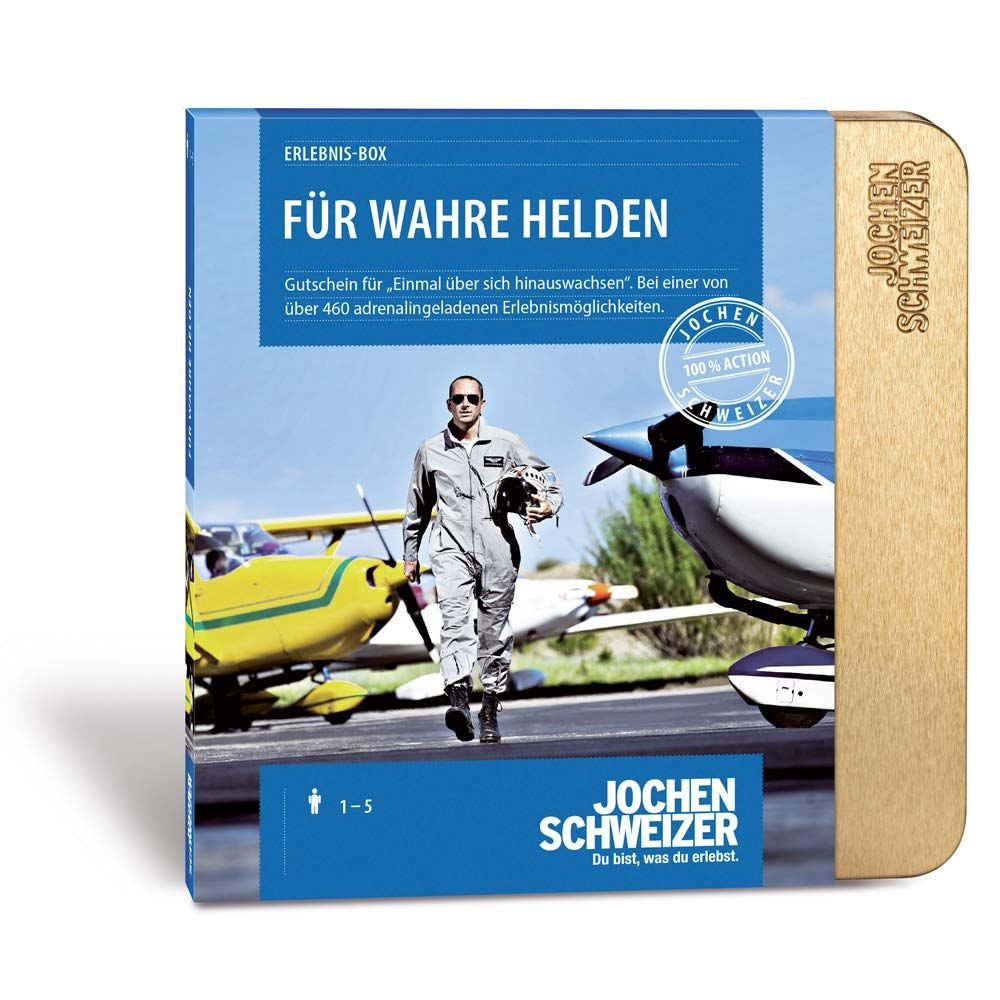 Jochen Schweizer ErlebnisBox 'FÜR WAHRE Helden', mehr als