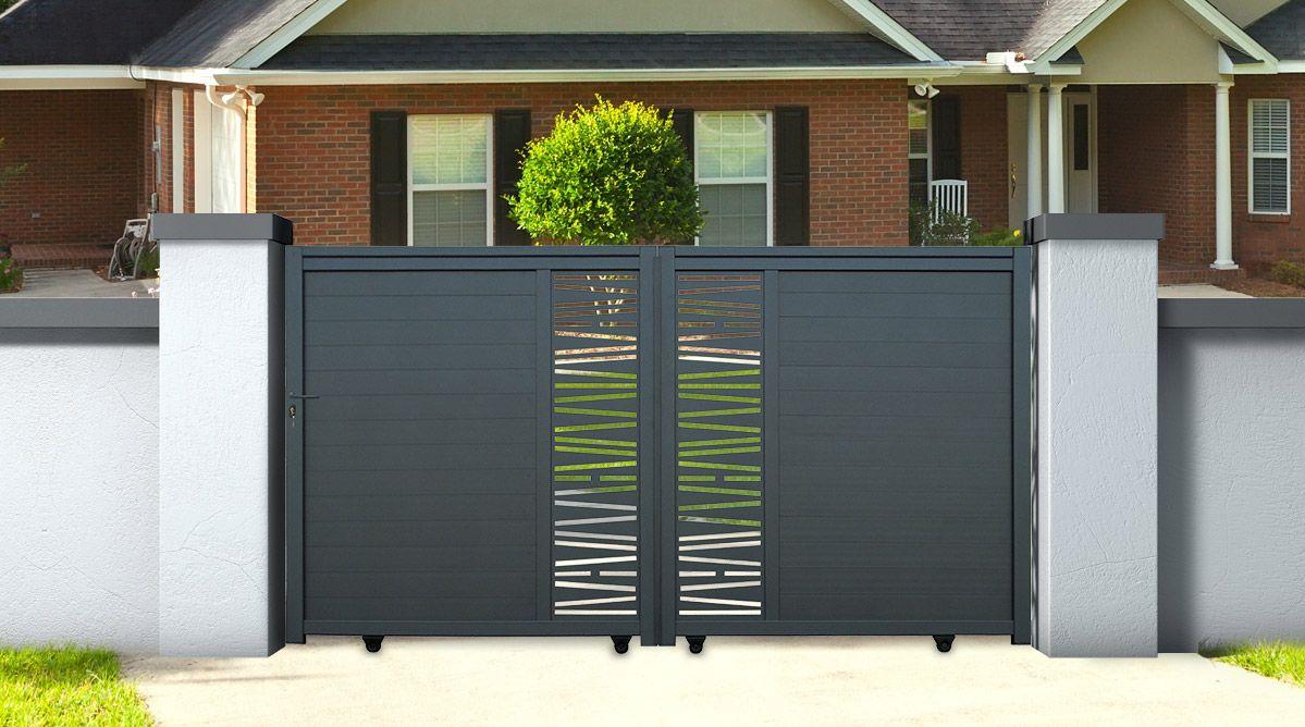 portail aluminium coulissant bondi 3 m hauteur garden pinterest. Black Bedroom Furniture Sets. Home Design Ideas