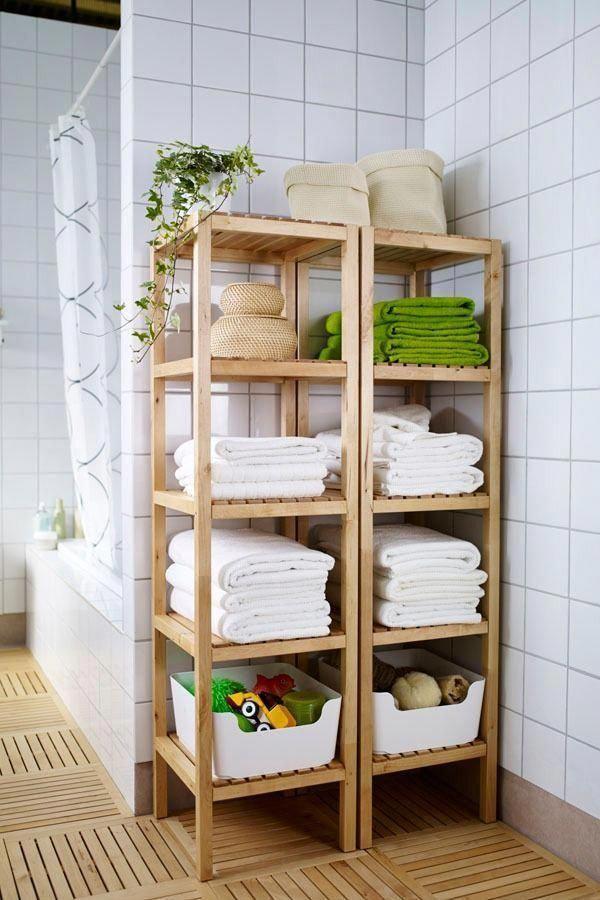 "MOLGER Shelf unit, birch, 14 5/8x55 1/8"" - IKEA"