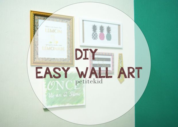 Wonderland Simple Wall Art Wall Canvas Easy Wall
