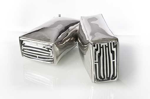 Nagroda Ktr Dla Starego Browaru 5050 W Polskim Konkursie Reklamy Klubu Tworcow Reklamy 2011 Dla Magazynu Art Fashion Festival Surowy W Kategorii De Cufflinks