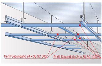 Falso techo pladur techo continuo techo desmontable - Falso techo modular ...