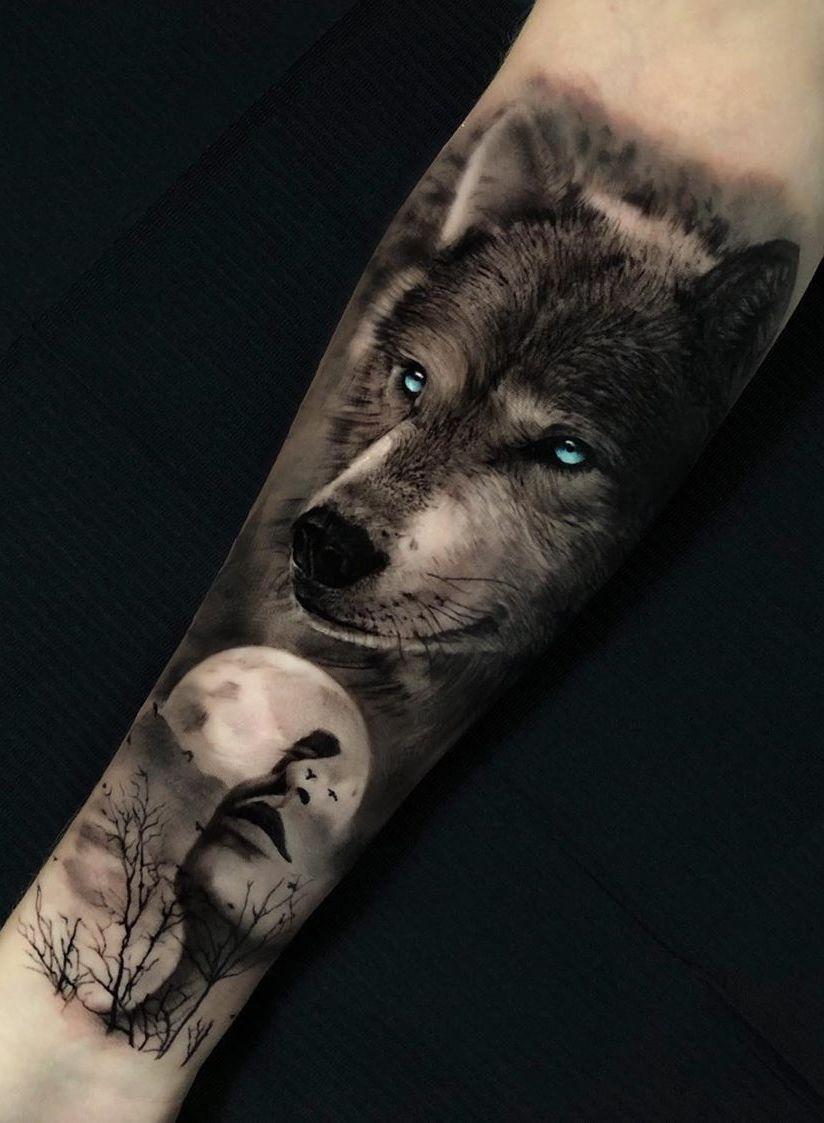 50 Of The Most Beautiful Wolf Tattoo Designs The Internet Has Ever Seen En 2020 Tatuajes De Lobos Tatuajes Nativos Tatuajes De Animales