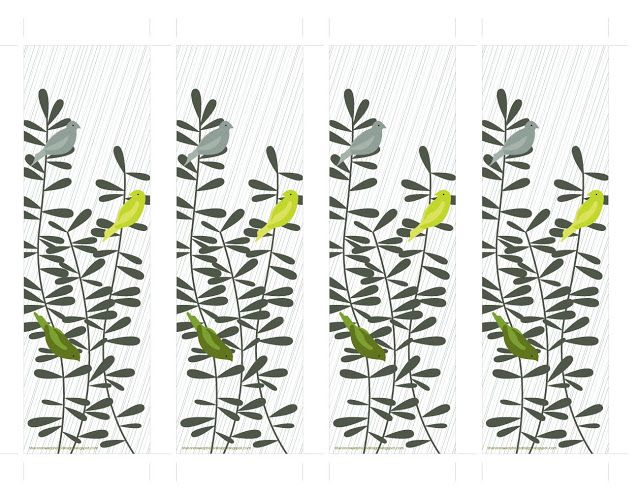 80 Free Printable Bookmarks to Make ataletçe kraft ayıraç - blank bookmark template