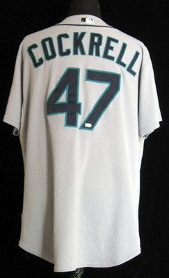 2009 Seattle Mariners Alan Cockrell #47 Game Issued Grey Road Jersey - Game Used MLB Jerseys by Sports Memorabilia. $78.06. 2009 Seattle Mariners Alan Cockrell #47 Game Issued Grey Road Jersey