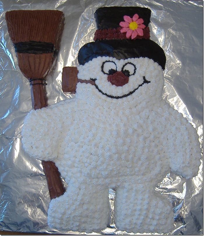 Astonishing Cool Frosty The Snowman Cake Snowman Cake Snowman Birthday Cake Personalised Birthday Cards Petedlily Jamesorg