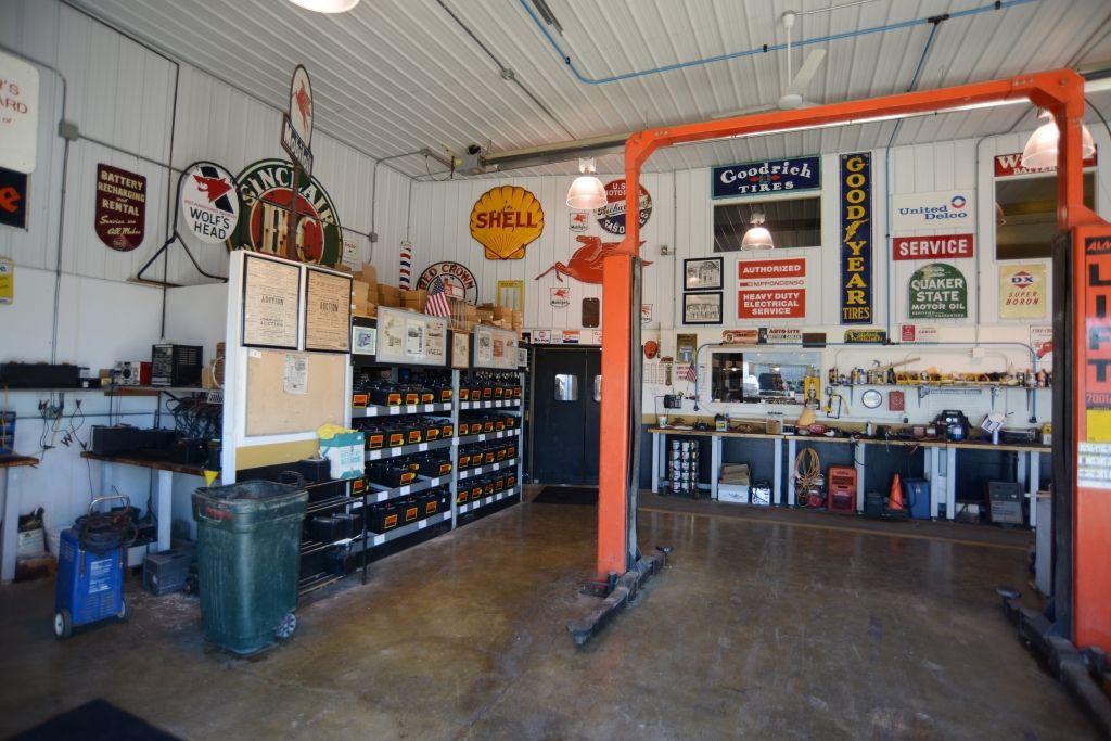 Hobby Garage suburban interior hobby garage and shop area shop ideas