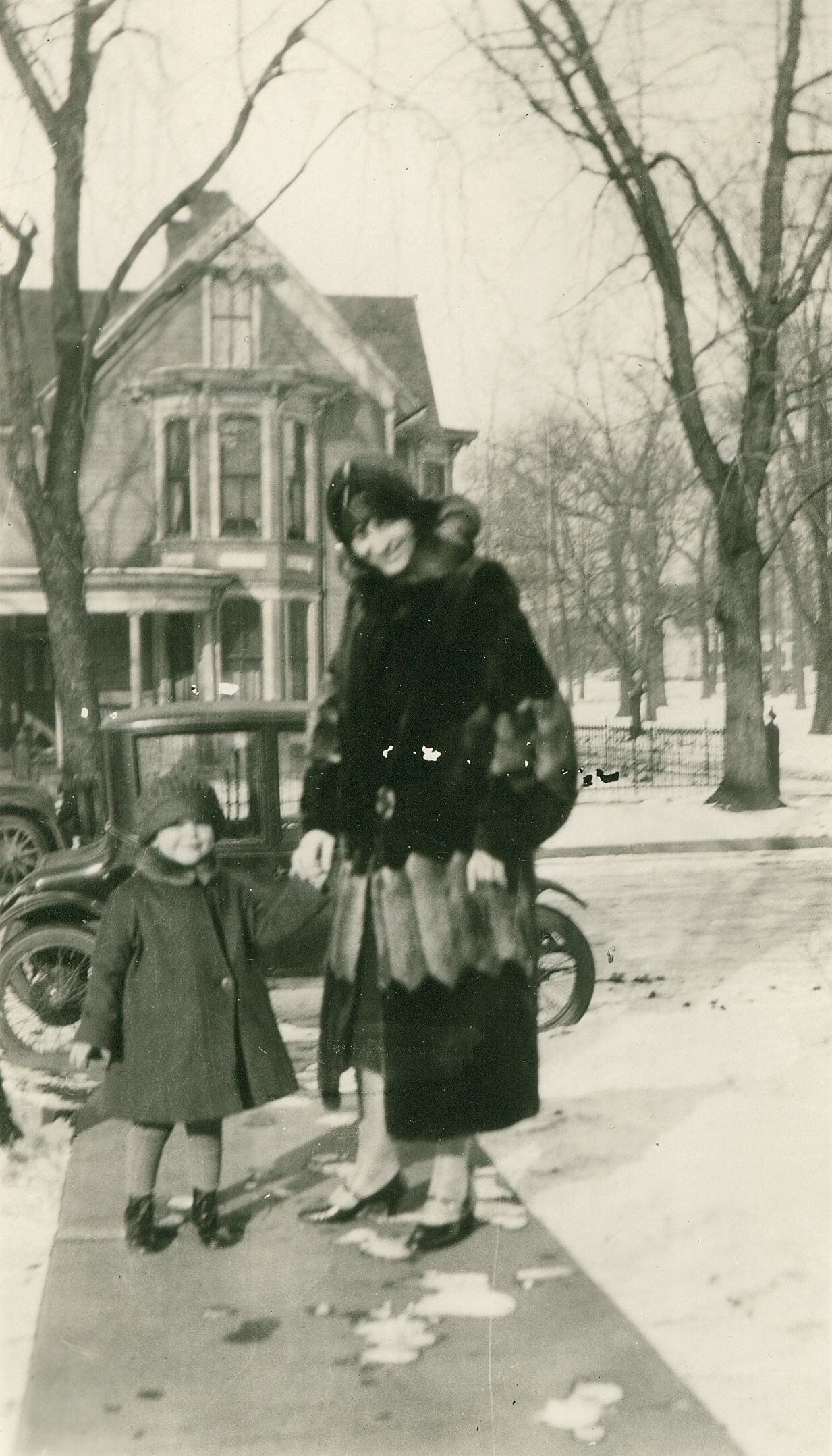 My love affair with fur coats started at an early age. #ninetyos #storiesshared #furcoats #vintagefashion