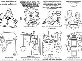 Actividades Archivos Pagina 2 De 5 Actiludis La Electricidad Para Ninos Mini Libros Riesgos En Casa