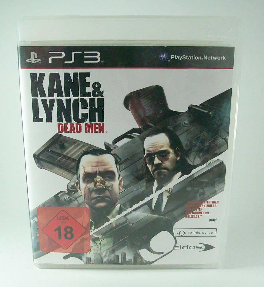#Kane #& #Lynch #Dead #Men #Sony #Playstation #3 #PS3 #Spiel
