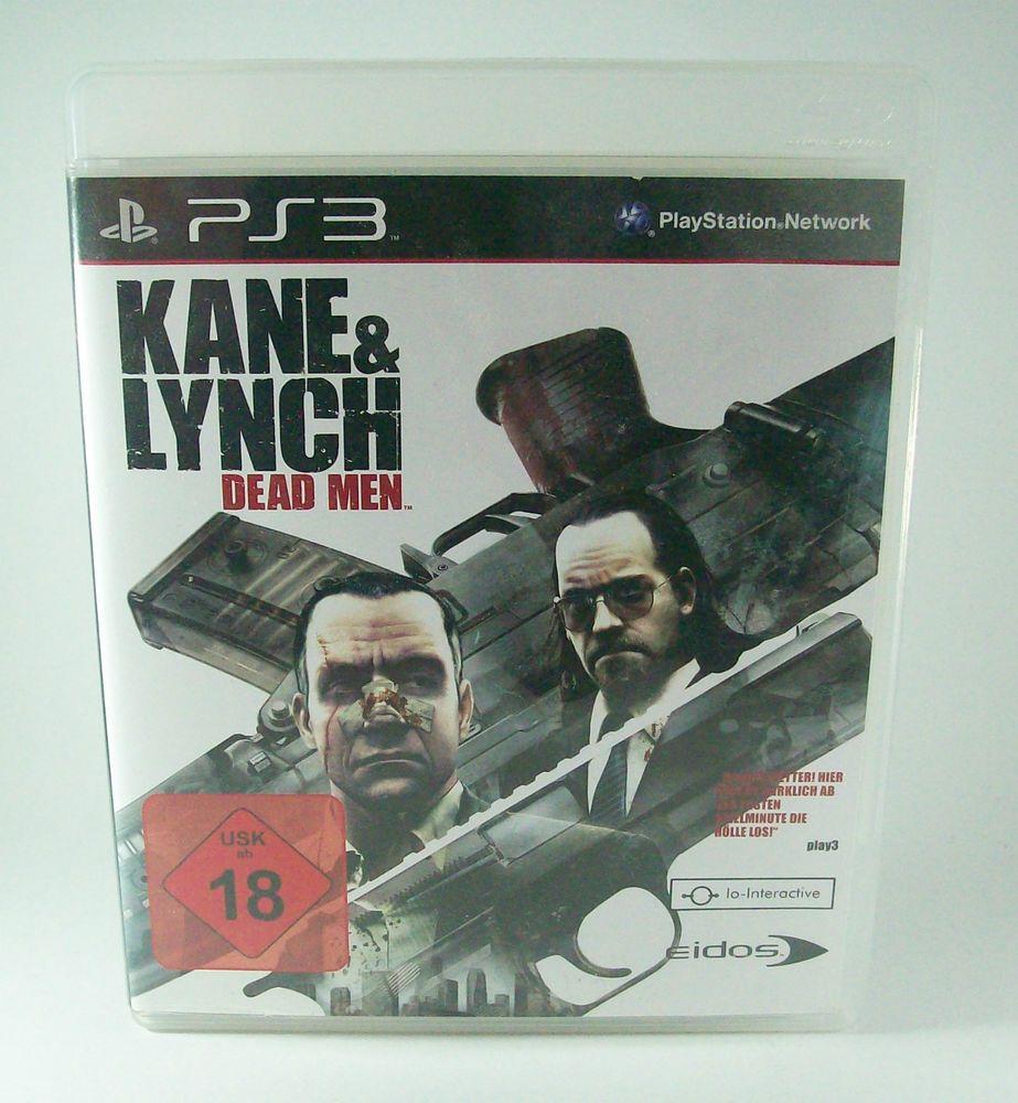 #Kane #& #Lynch #Dead #Men #Sony #Playstation #3 #PS3 #Spiel