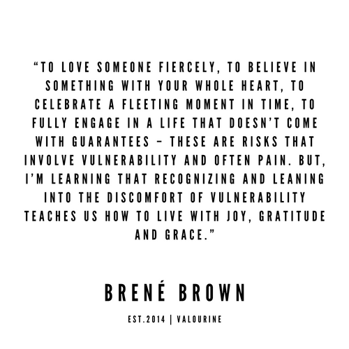 12   Brené  Brown Quotes   190524   White Design Art Print by Quotes And Sayings