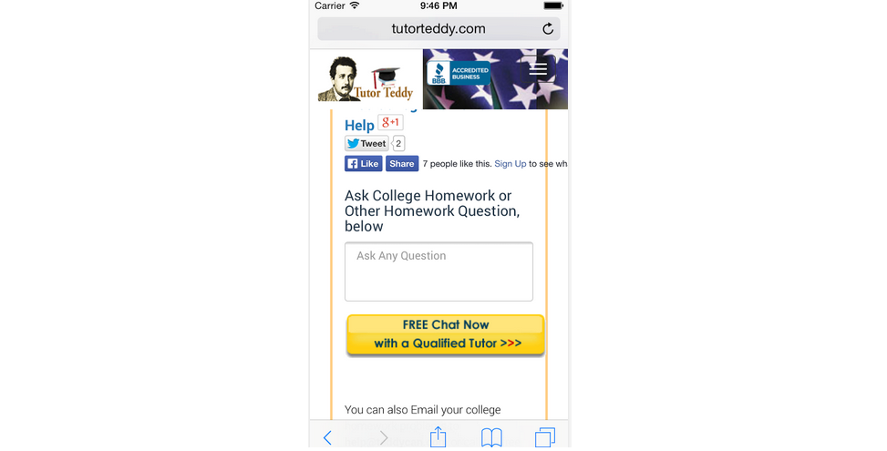 Accounting homework help app