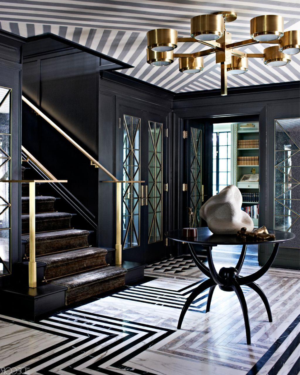 Awesome attractive black and white decor idea for luxury hollywood glam regency style home interior design also rh co pinterest
