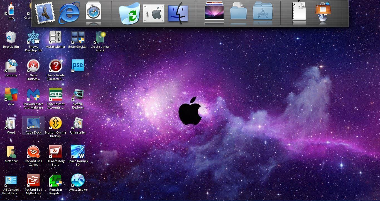 How To Make Windows 10 More Like The Mac Os X Hd Apple Wallpapers Black Wallpaper Iphone Black Apple Logo