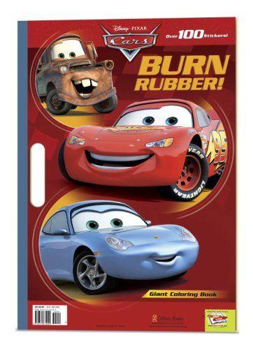 Disney Pixar Cars Giant Coloring Book By RH
