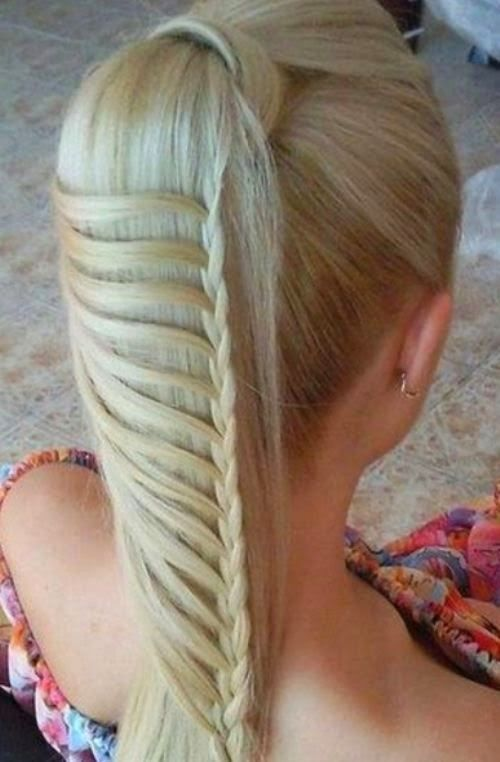 Easy And Cute Hairstyles Cool 5 Coolest Hairstyles For School Looks Really Simple Easy Braid