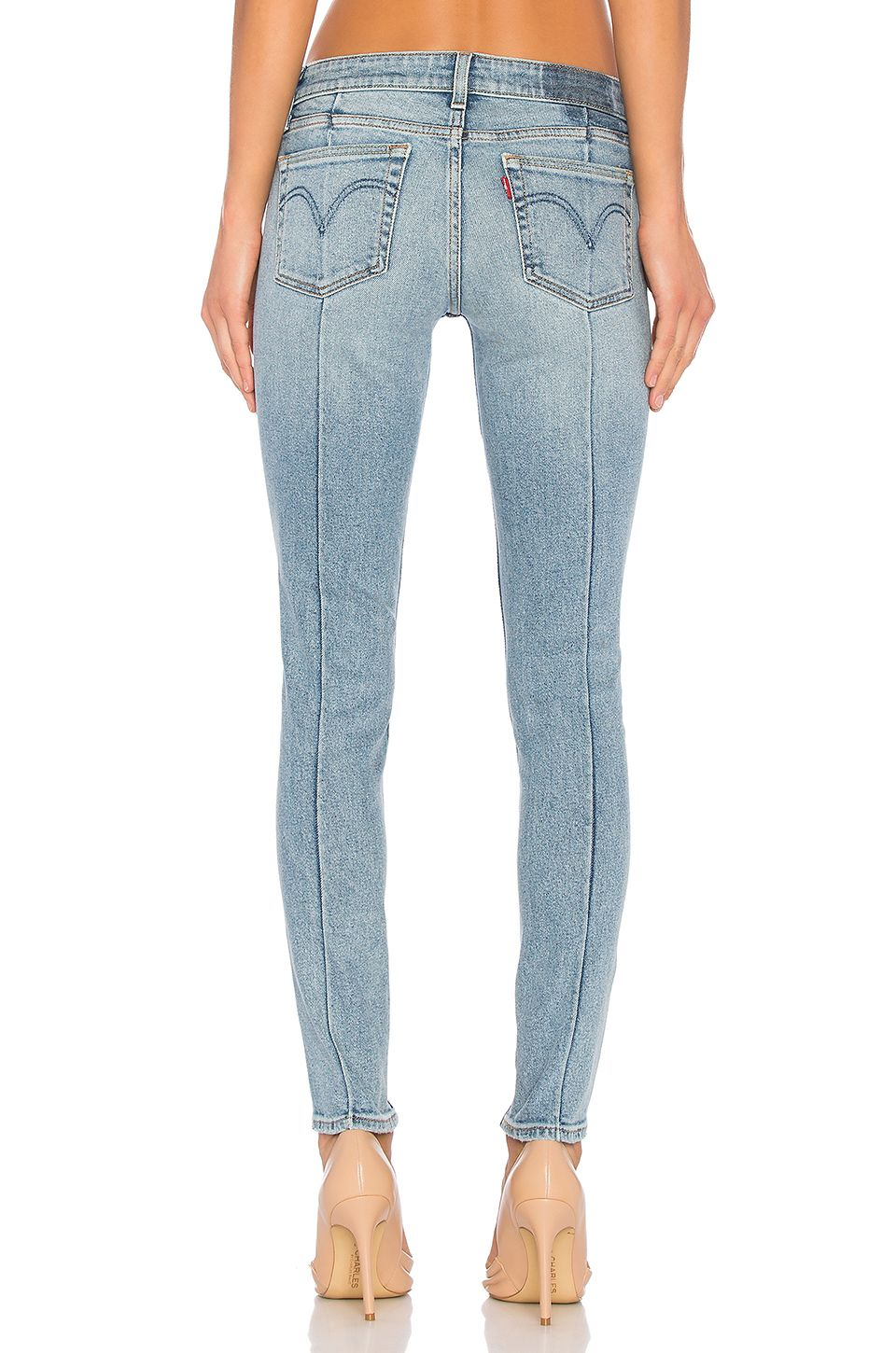 e86f5f4b LEVI'S 711 Skinny Altered in Blue Steam | wash | Skinny, Alters, Jeans