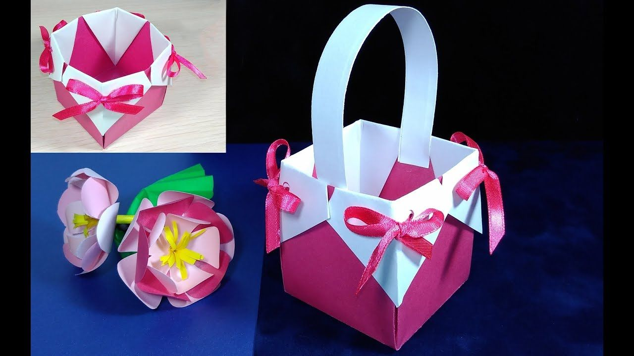 Beautiful origami gift basket for easter gift wrapping ideas beautiful origami gift basket for easter gift wrapping ideas youtube negle Image collections