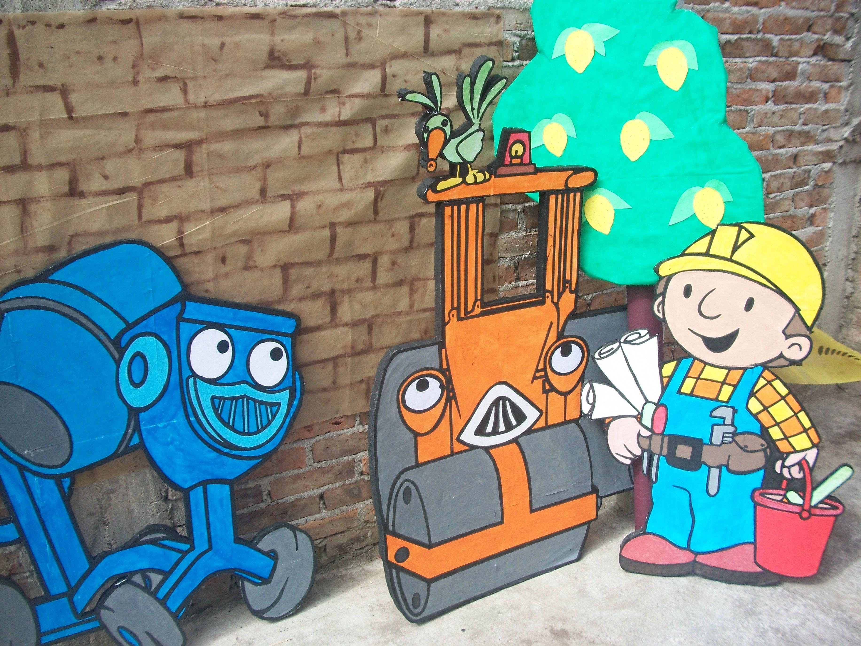 lugar para fotos Bob el constructor | niños | Pinterest | Bob el ...