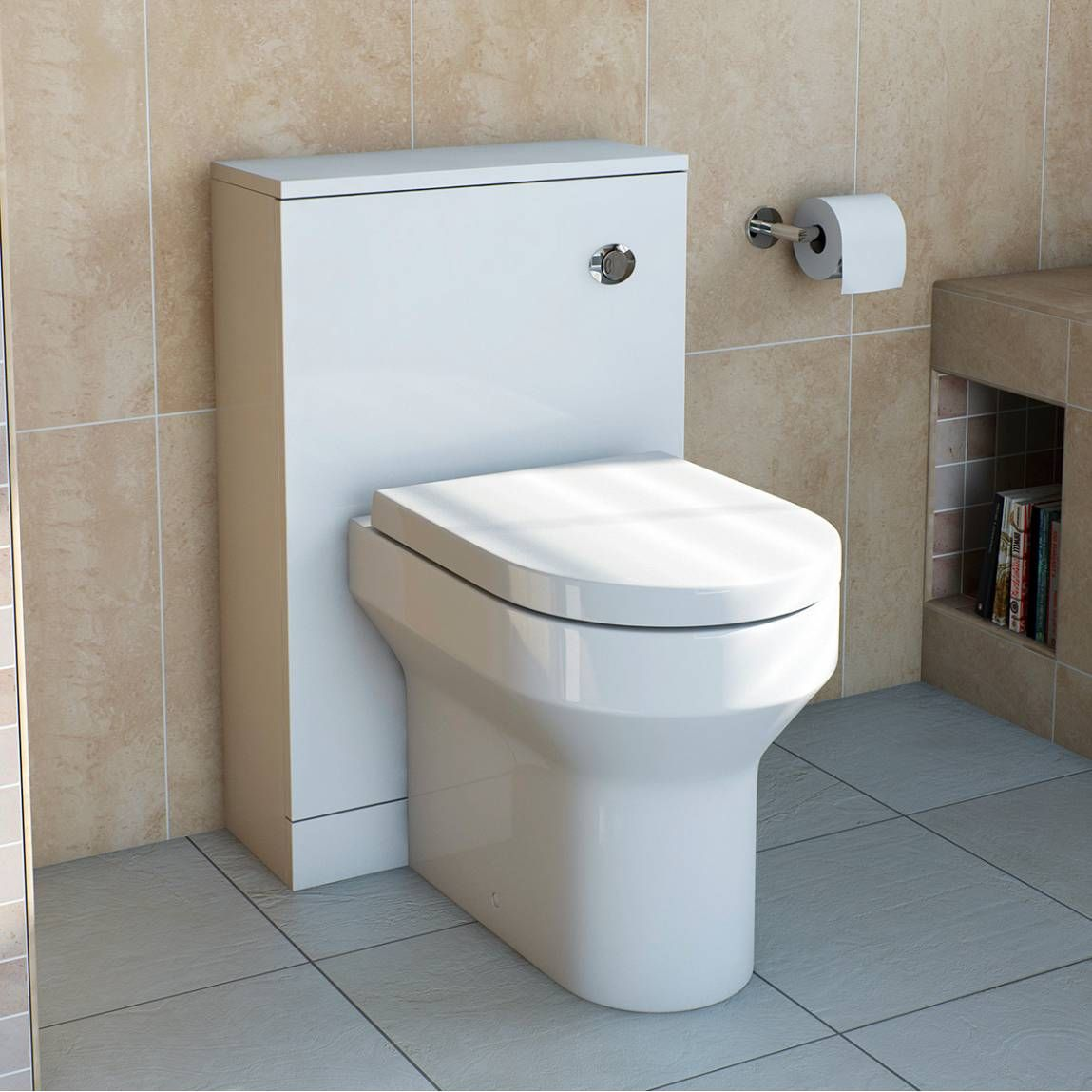 Oakley back to wall toilet with soft close seat offer pack | Oakley ...