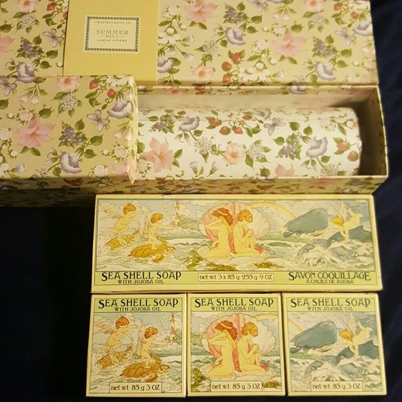 Crabtree Evelyn Scented Drawer Liners Soap Scented Drawer